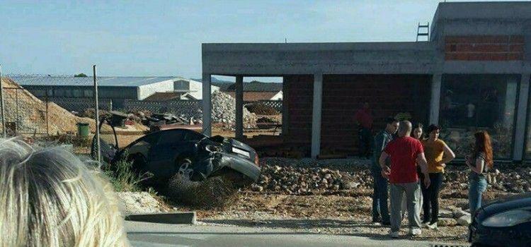 PROMETNA NESREĆA Skršena tri automobila prema Gaženici