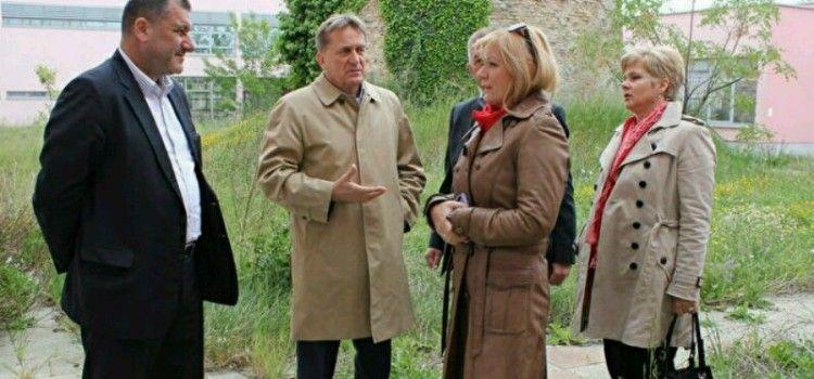 Ministrica Bernardica Juretić obišla centar Mocire u pratnji gradonačelnika i njegovih suradnika