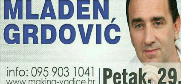 U PETAK Koncert Mladena Grdovića u Vodicama