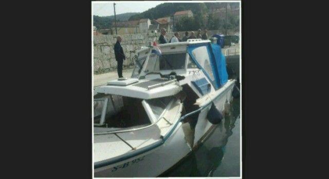 POMORSKA NESREĆA U TKONU Jedrilica se zabila u brod!