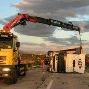 Bura stvara poteškoće u prometu; Prevrnuti kamioni u Posedarju