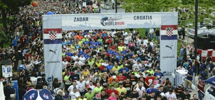 WINGS FOR LIFE U ZADRA Za utrku se prijevilo 7.000 trkača!