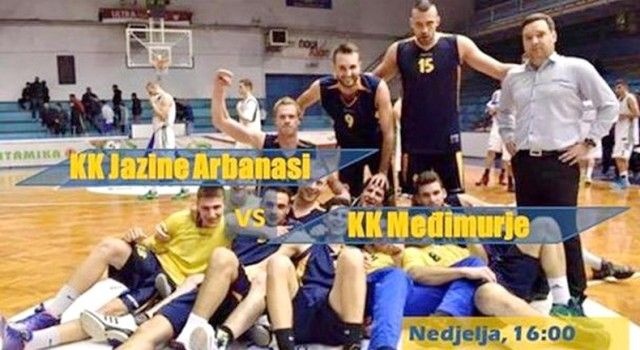 KK Jazine Arbanasi žestoko se bore za ulazak u prvu košarkašku ligu!