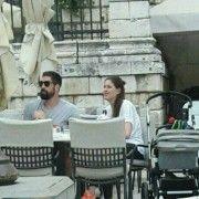 POZNATI RUKOMETAŠ U ZADRU Nikola Karabatić s djevojkom Geraldine popio kavu u Lovre!