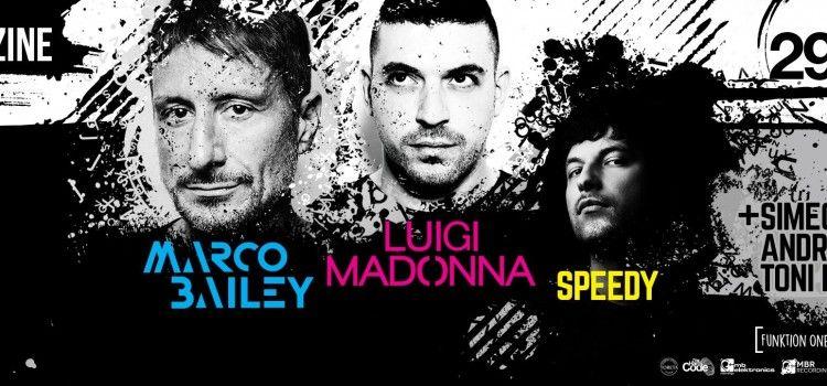 TECHNO SPEKTAKL U JAZINAMA: Marco Bailey, Luigi Madonna i DJ Speedy garancija za užareni dancefloor