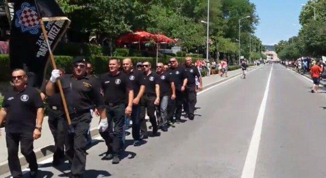 SRBI ZGROŽENI Pripadnici 9. bojne Rafael vitez Boban pjevali u Kninu ustaške pjesme i Za dom spremni