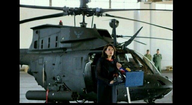 PREDSJEDNICA U ZEMUNIKU Predstavljeni izvidničko-borbeni helikopteri Kiowa Warrior