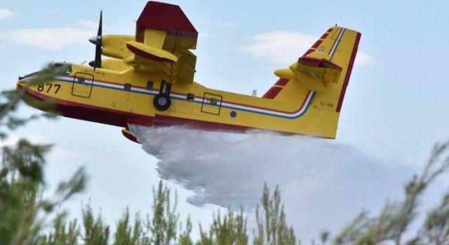 Požar pored Raštana gasi se s 10 vatrogasnih vozila i tri kanadera