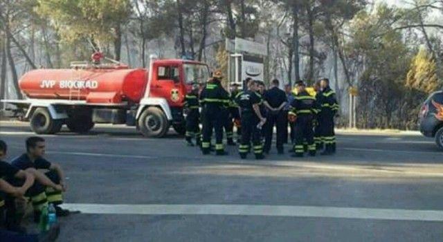 MJEŠTANI MOGU ODAHNUTI Nakon višesatne borbe, požar kod Pakoštana pod kontrolom!