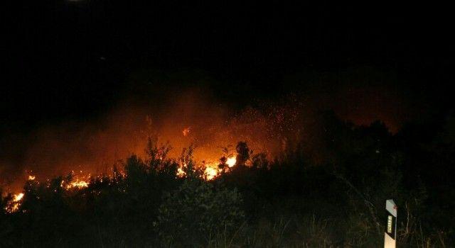 FOTO Noćas izbio požar u Stankovcima na području budućeg aerodroma