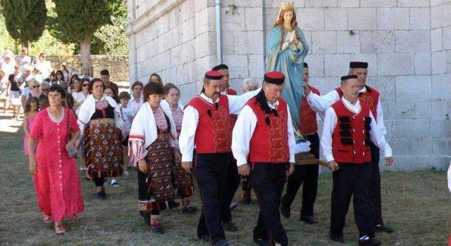 FOTOGALERIJA Proslava blagdana Velike Gospe u Stankovcima (Foto: Marko LEDENKO)