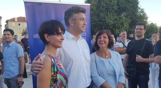 FOTOGALERIJA Posjet predsjednika HDZ-a Andreja Plenkovića Zadru