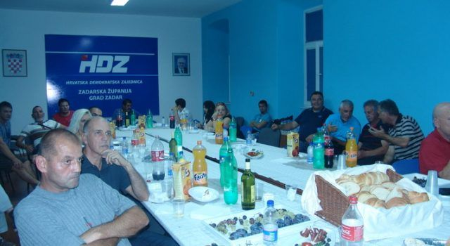 FOTOGALERIJA Izborni stožer zadarskog HDZ-a