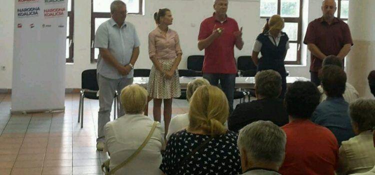 SDP-ovi kandidati za Sabor posjetili su Galovac, Smilčić, Pridragu i Gračac