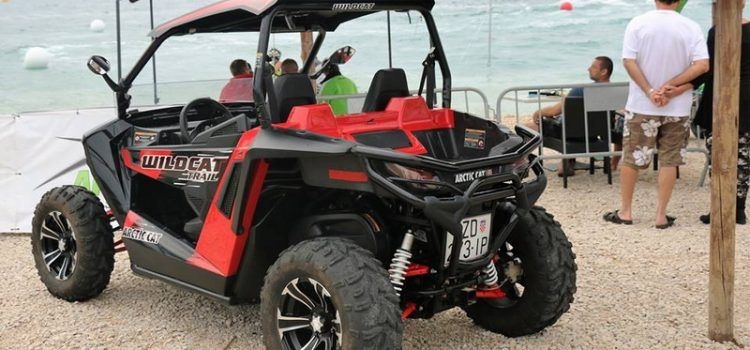 NITKO NIJE PRIMJETIO S plaže u Viru izguran i ukraden 500 kg težak buggy!