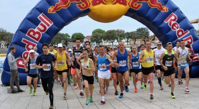 Olimpijka Matea Matošević sudjeluje na polumaratosnkoj utrci prema Viru