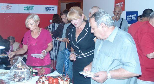 FOTOGALERIJA Izborni stožer zadarskog SDP-a