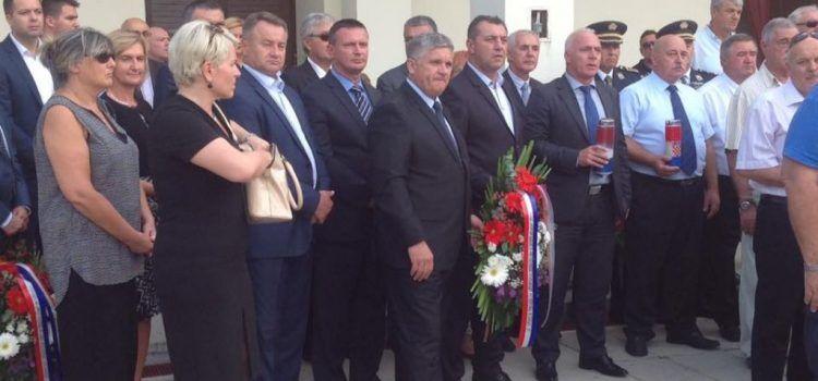 Župan Stipe Zrilić na obilježavanju 25. obljetnice Hrvatske ratne mornarice u Šibeniku
