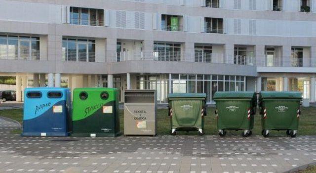 """""""ZELENI OTOCI"""" NA 25 LOKACIJA Odlaganje stakla, papira, met ambalaže, odjeće i obuće, te komunalnog otpada"""