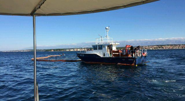 Održana vježba intervencije kod iznenadnog onečišćenja mora