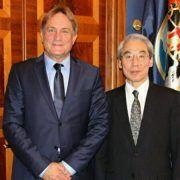 Gradonačelnik Božidar Kalmeta primio japanskog veleposlanika Takiguchija