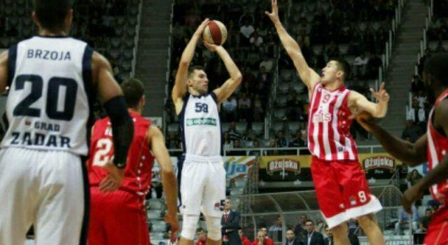 Košarkaši Zadra večeras gostuju kod Cevene Zvezde u Beogradu