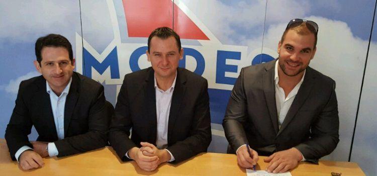 SPORTAŠ U POLITICI Olimpijac Stipe Žunić potpisao pristupnicu za MODES