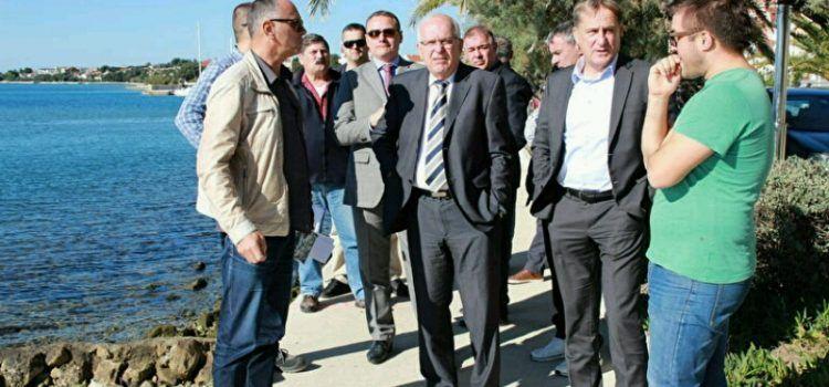 REKONSTRUKCIJA RIVE Gradonačelnik Kalmeta obišao radove u Petrčanima!