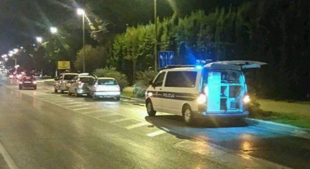 (FOTO) LANČANI SUDAR Tri automobila sudarila se u Ulici Franje Tuđmana