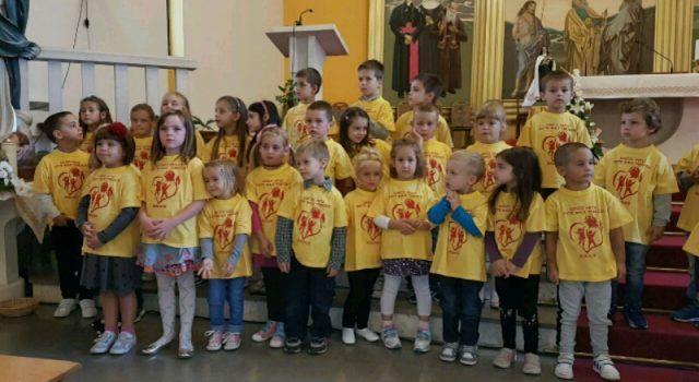 BIBINJE Priredba za djecu povodom blagdana Svete Male Terezije