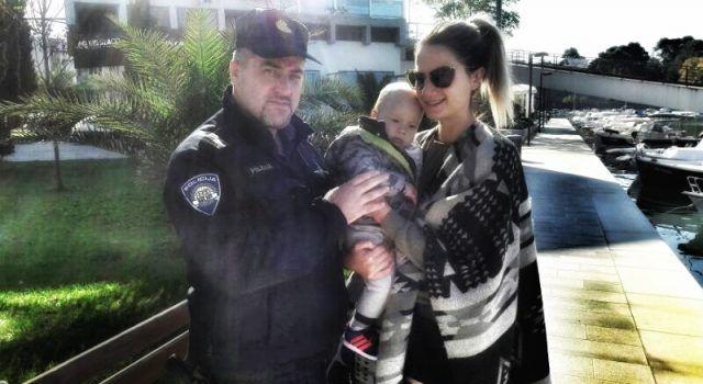 Zadarski policajac Dražen Malčić spasio život 10-mjesečnom djetetu!