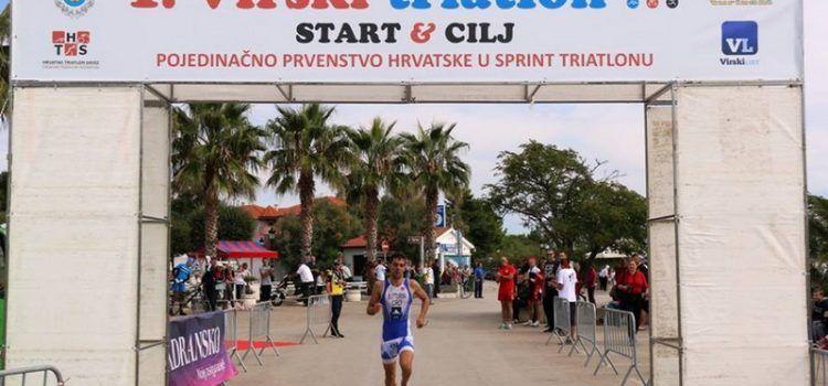 FOTOGALERIJA Virski triatlon: Butturini apsolutni pobjednik