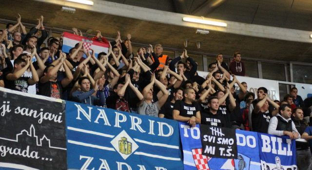 VELIKA FOTOGALERIJA Utakmica Zadar – Partizan (Foto: Rina MARCELIĆ)