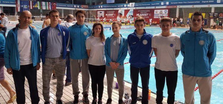 "MEĐUNARODNI MITING ""MLADOST 2016."" Plivački klub Jadera osvojio pet medalja!"