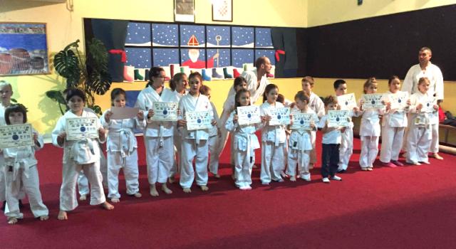 KARATE KLUB Mali sportaši iz Bibinja uspješno položili ispit!