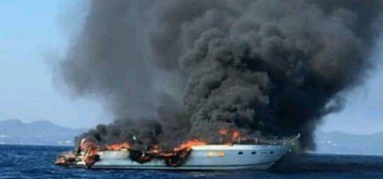 HEROJI Ribari koji su spasili posadu gorućeg broda nominirani za Plavu vrpcu