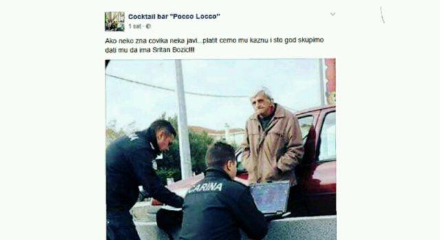 Coctail bar Pocco Locco iz Biograda nudi djedici kojeg je kaznila inspekcija otkup kazne!