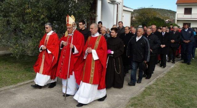 FOTOGALERIJA Procesija i proslava Sv. Nikole Tavelića (Snimio: Marko Ledenko)