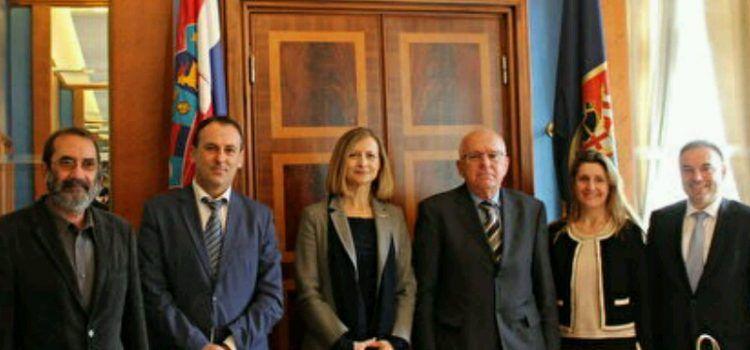 U GRADSKOJ VIJEĆNICI Dogradonačelnik Vrančić primio slovensku veleposlanicu