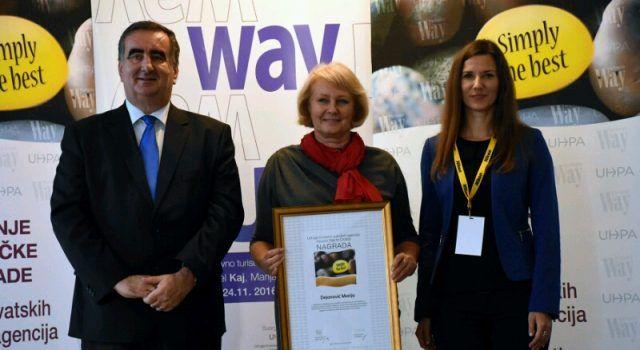 Marija Dejanović dobila priznanje za razvoj Nina kao prepoznatljive europske destinacije