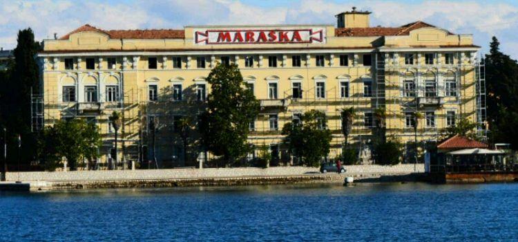 POSTAVLJENE SKELE Zgrada Maraske preuređuje se u luksuzni hotel Hyatt