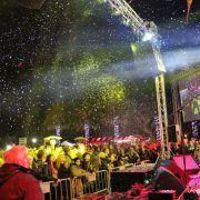 GALERIJA Snježni i svjetlosni spektakl uz Crvenu jabuku i tisuće posjetitelja na Viru