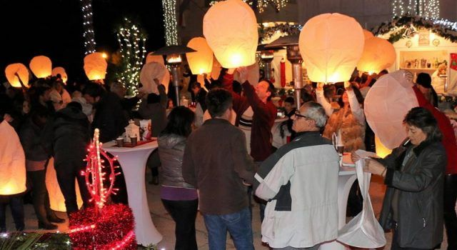 FOTOGALERIJA Spektakl s lampionima na Viru i paljenje druge adventske svijeće