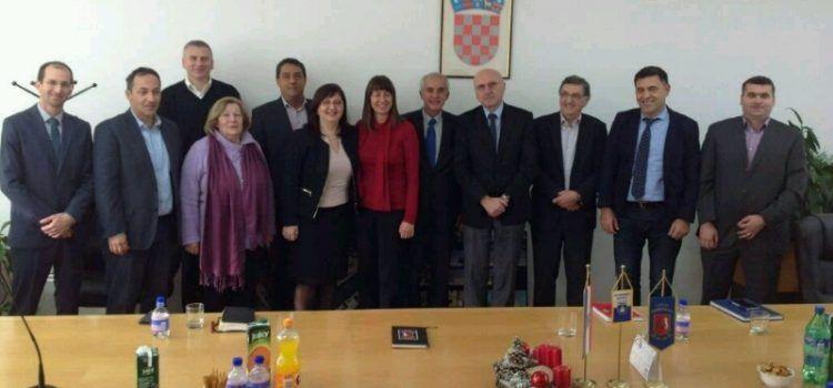 Župan Stipe Zrilić boravio u radnom posjetu Gradu Obrovcu!