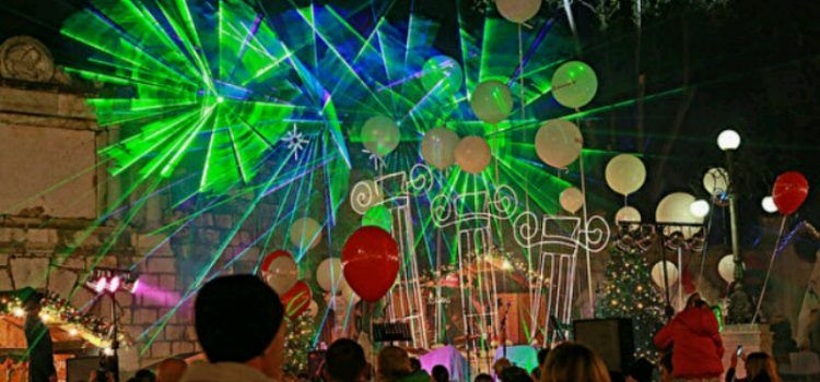 OTVORENJE ADVENTA Večeras laserski show i pirotehnički spektakl!