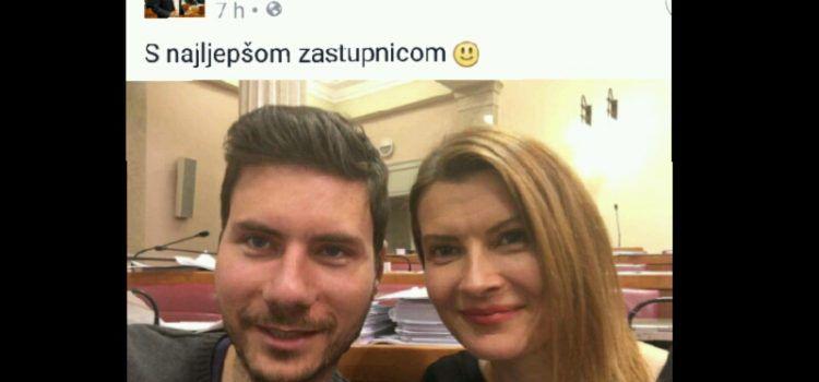 PERNAR: Sabina Glasovac je najljepša saborska zastupnica!
