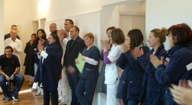 """U Psihijatrijskoj bolnici Ugljan danas je predstavljen projekt """"Uz tjelovježbu smo zdraviji"""""""