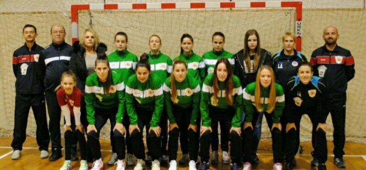 Super Chiks, ženska malonogometna ekipa iz Poličnika, domaćin Prvenstva Hrvatske