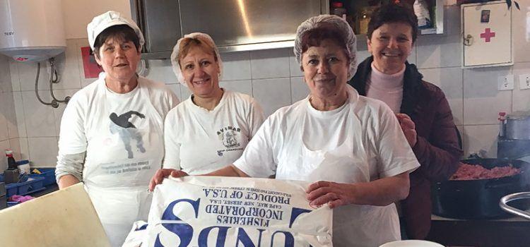 """Tvrtka """"Di Maris"""" donirala lignje Pučkoj kuhinji; Korisnicima će se poslužiti sutra!"""