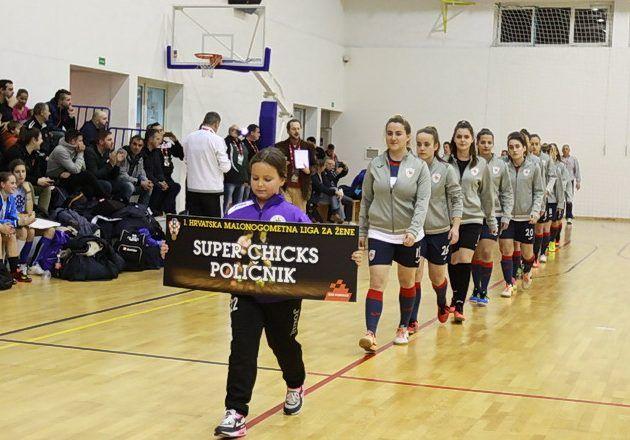 FOTOGALERIJA Prvenstvo Hrvatske u futsalu za žene u Zadru